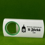 Bottle opener - plastic price: 49,-