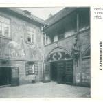 pohlednice U Fleků - Nádvoří