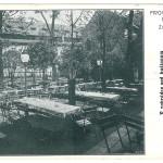 pohlednice U Fleků - Zahrada